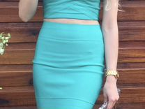 Платье-костюм бандажное