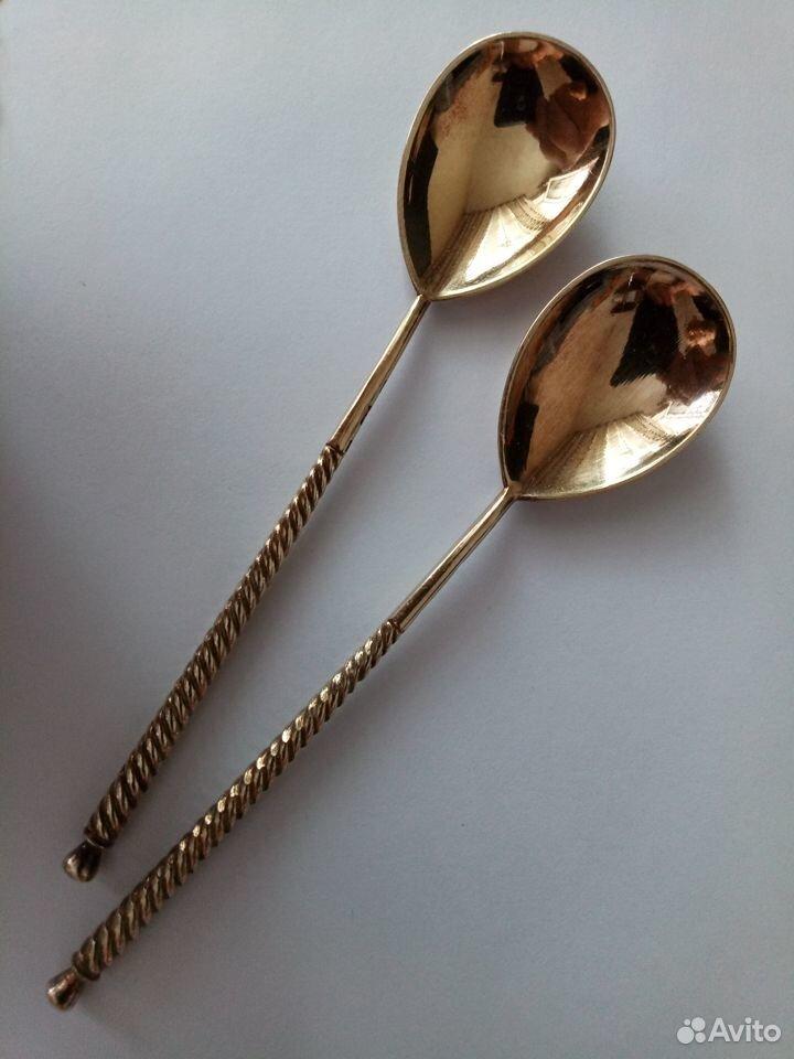Ложка серебряная 875 пробы  89517925057 купить 3