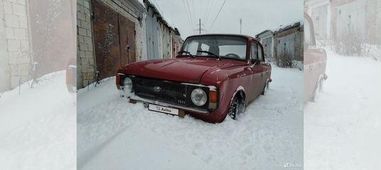 ИЖ Москвич-412, 1976