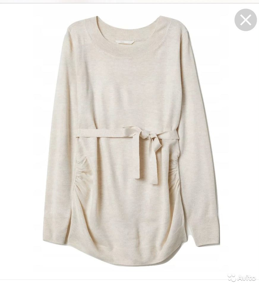 Тонкий свитер для беременных H&M  89274132801 купить 1