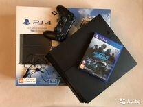 Sony PS4 матовая 1208+игры+гарантия