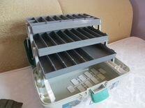 Ящик рыболовный, размер 440/220/200 мм, 3 лотка