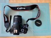 Canon 1100D 18-55 зеркальный фотоаппарат — Фототехника в Петрозаводске