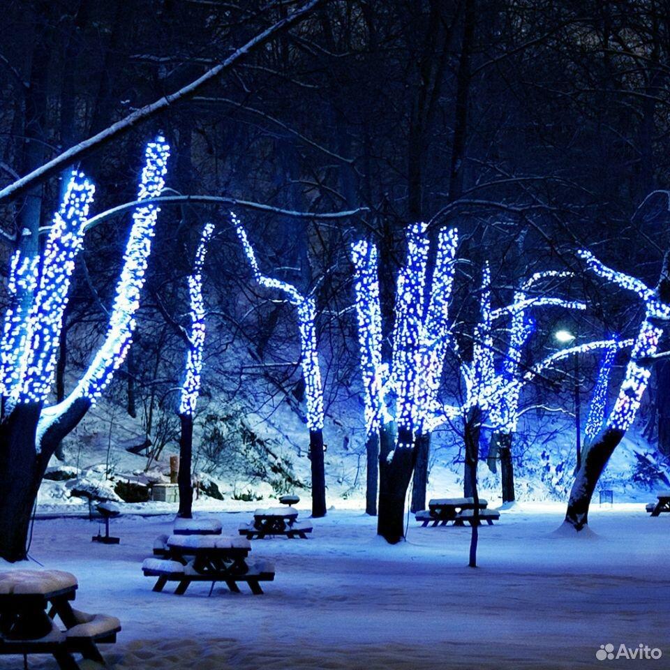 Гирлянды на дерево новогоднее оформление  89613169763 купить 7