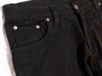 Джинсы черные утепленные мужские LexxsJeans зимние