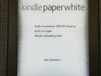 Kindle paperwhite (3 поколение)